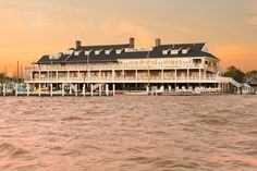 The Stunning Restoration of a 129-Year-Old Yacht Club by Lucas Studio Photos | Architectural Digest