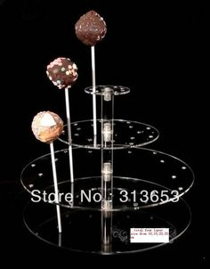 4 tier Transparent acrylic lollipop display stand, party and food stand(size 10,15,20,20cm)  free shipping ,-in Stands from Home  Garden on Aliexpress.com $58.00