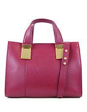 Simple yet lovely for spring. ZAC ZAC POSEN #handbag #pink