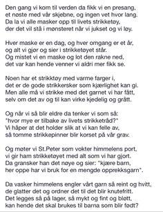 Livets strikketøy. Poems, Live, Poetry, A Poem, Verses