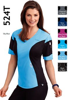 - Ultra Flexi Srcub Top Ultra Flexi means ultra comfy. This scrub top has multiple stretch panels giving it the most amazing fit and feel. This scrub top also has two lower pockets and one shoulder pen pocket. Mobb, Scrub Tops, Scrubs, Long Sleeve Tees, One Shoulder, Comfy, Pockets, Fit, Amazing