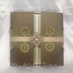 Couture wedding invitations. Surprise your guests right from the very begging…