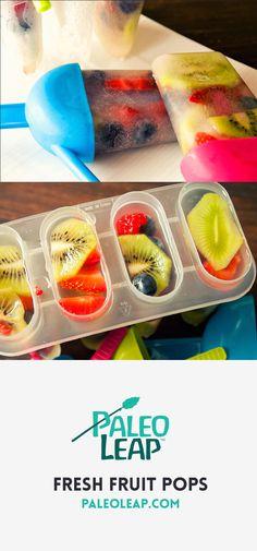 Paleo Fruit Pops
