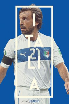 FIFA World Cup 2014. Forza azzurri! Pirlo INE of my favorite Italian players.
