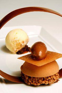 Daniel Boulud, chef del Restaurante Daniel en Manhattan crea platillos con fuerte influencia francesa y picardía americana.