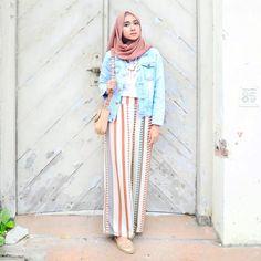 Muslim Fashion, Modest Fashion, Simple Outfits, Chic Outfits, Hijab Fashion Inspiration, Style Inspiration, Hijab Trends, Casual Hijab Outfit, Hijab Style