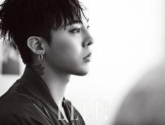 "More G-Dragon for ""8 Seconds"" Collaboration in ""Elle Korea"" [PHOTO] - bigbangupdates"