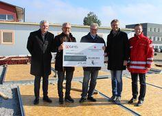 Asylwerbercamp in Bad Leonfelden mit Temporary homes aus OÖ eröffnet House
