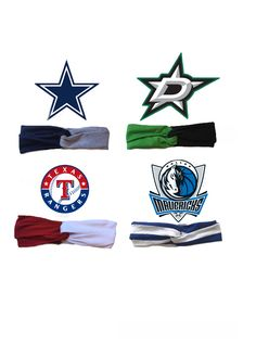 Cowboys game day Stars Game day Rangers game day Mavericks game day headbands! Texas headbands
