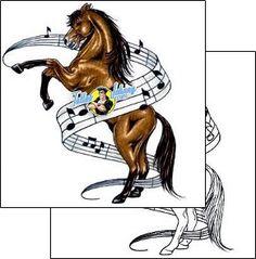 Horse Tattoo animal-tattoos-cricket-crf-00067