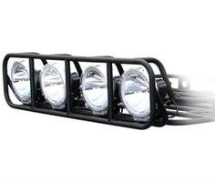 k5 blazer roof rack | Defender Light Cage - Black - Smittybilt - 40002