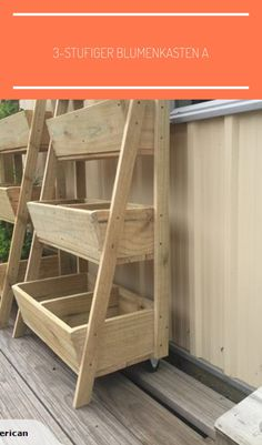planter made of wood - All For Garden