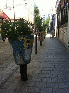 Rue Denoyez à Belleville