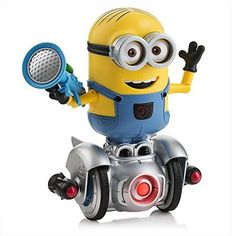 Minions MiP Turbo Dave is a remote-controlled robotic that is being launched by WowWee in May of 2017. It will be launched in time for Despicable Me 3, which debuts in theaters on June 30. It operates via a Bluetooth app that is offered on Android and iOS gadgets. Kids and adults alike will like this toy as they can simply own it around using an app or they can sketch out a path for it to handle its own. Get best price here: