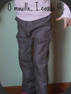 Pantalon étroit