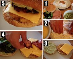 COMMENT FAIRE LE CALIFORNIA CHICKEN MCDO California Chicken, Mcdonald, Hamburgers, Bagel, Sandwiches, Mexican, Simple, Ethnic Recipes, Food