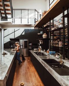 Indian Home Interior Dream Home Design, Home Office Design, Modern House Design, Home Interior Design, Interior Architecture, Loft Design, Design Case, Design Jobs, Industrial House