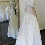 Amazing Justin Alexander Silk gown... @ half the cost!