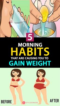 cdd8cddc5a Ladies, Here Are 5 Morning Habits That Are Causing You to Gain Weight (You  MUST Avoid Them!)