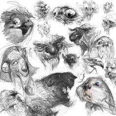 Alberto Veranda - Character Sketches