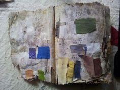 chinese dye recipe book, from Henrik Drescher