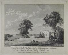 Seat Of the Right Hon,ble the Earl of Harcourt at Nuneham, with a distant View of Oxford | Sanders of Oxford