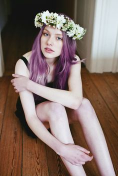 There Is No Them, There Are Only Facets Of Us #purplehair