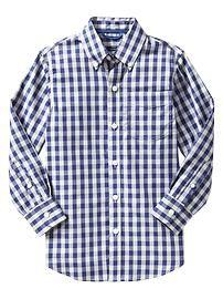 Non-iron printed shirt