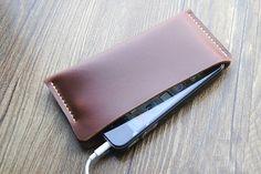 Estuche de cuero hecho a mano para el iPhone 5, 4s/4, cuero teléfono caso, caso delgado, Hand-Stitched teléfono monedero, iPhone cubierta