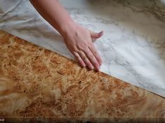 Contact Paper Countertops Full Tutorial And Review - The Nifty Nester Cheap Kitchen Countertops, Diy Concrete Countertops, Counter Edges, Counter Top, Contact Paper, Home Repair, Diy Kitchen, Nifty, Kitchens