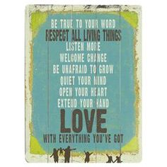 Love Is Everything Wall Decor