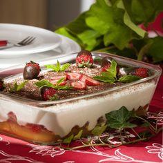Weil ihre Familie nicht so gerne süsse Kuchen und Torten isst, tischt Doris Schlenke während der Erdbeersaison zum Kaffeetrinken häufig das Erdbeer-...