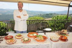 Great shot of our chef Aldo! by #e20umbria . Festival dei 2Mondi 2013 semi-serio: day 13, 10/07 - Turismoumbria.net