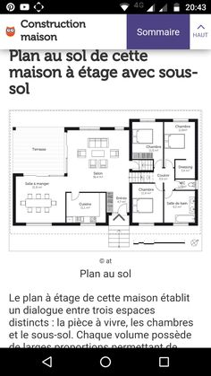 plans parfait dark flats bedrooms - Maison Top Duo Avis