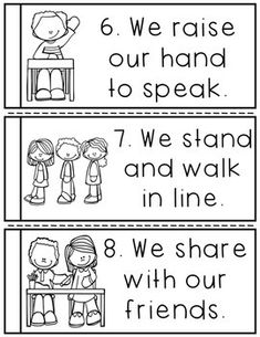 Discover recipes, home ideas, style inspiration and other ideas to try. Kindergarten Classroom Rules, Preschool Rules, Classroom Behavior, Classroom Posters, Preschool Classroom, Classroom Management, Kindergarten Posters, Behavior Management, Future Classroom