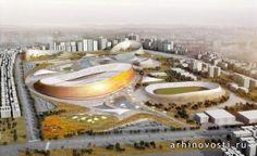 Проект от архитектурных компаний Laboratory for Visionary Architecture (LAVA) и Designsport и местной эфиопской фирмы JDAW участвовал в международном конкурсе на лучший вариант национального стадиона и спортивной деревни для города Аддис-Абеба, Эфиопия. Проект был признан лучшим на данном конкурсе,...