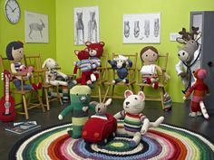 WOW! Anne-Claire Petit - Crochet: Animals, Toys, Baby Gifts, Fashion and Home Accessories, Hand Made Design