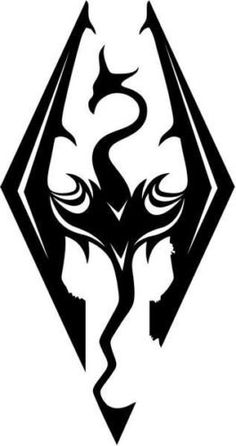 Skyrim Dragon Video Game Vinyl Graphic Car Truck Windows Decor Decal Sticker  Die cut vinyl decal for windows cars trucks tool boxes laptops MacBook  virtually any hard smooth surface -- Read more  at the image link.Note:It is affiliate link to Amazon.