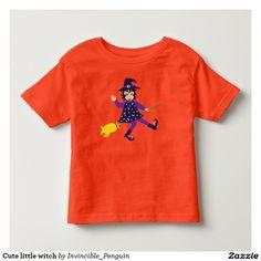 Cute little witch toddler t-shirt