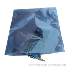 #Static #ShieldingBags with No Print - #antistatic #bubblebag #recloseable #barrier #conductive #antistaticpolybags
