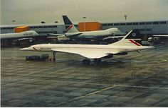 Concorde at Heathrow How I remember this day!