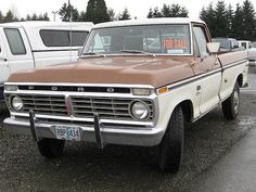 Classic Ford Trucks, Classic Cars, Old Trucks, Pickup Trucks, F100 Truck, Ford Powerstroke, Old Fords, Square Body, Cars Motorcycles