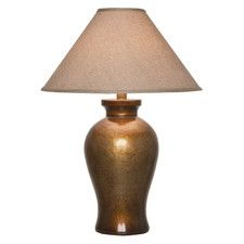 """31"""" H Table Lamp with Empire Shade"""