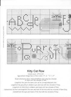 Kitty Katty Row. ONE.
