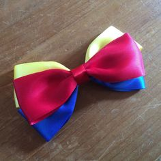 Disney Inspired Snow White Hair Bow by closetgeeksite on Etsy