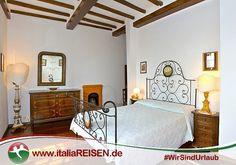 Webcode: IT-CSCA Schlafzimmer, Toskana, Italien, Urlaub, Reisen ...