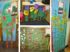 Dramatic play:  A corn field, garden, berry patch, and an orchard all ready for picking!  Pocket of Preschool
