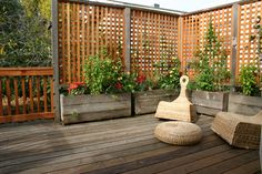 deck | Flickr - Photo Sharing!...IF I EVER HAVE NEIGHBORS..THIS IS GREAT PRIVACY