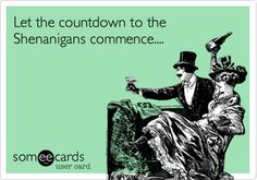 Let the countdown to the Shenanigans commence....