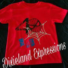 Spiderman Birthday party shirt! Fourth Birthday, 4th Birthday Parties, Birthday Bash, Birthday Ideas, Spiderman Shirt, Iron Man Spiderman, Vinyl Shirts, Party Shirts, Birthday Shirts